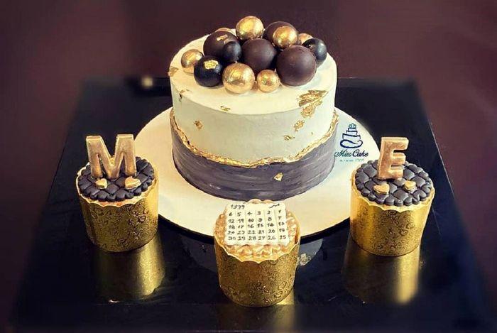 ویدیو عجیب برای طرز  تهیه پخت کیک با تزئین ورق طلا!