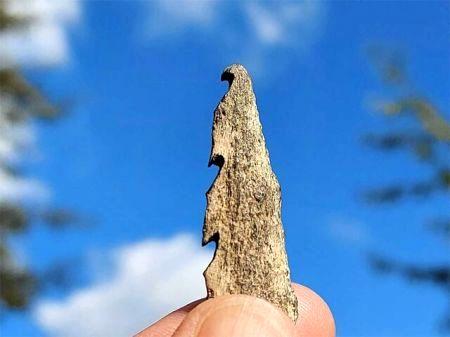 عجیب اما واقعی کشف سلاحهایی از جنس استخوان انسان+عکس