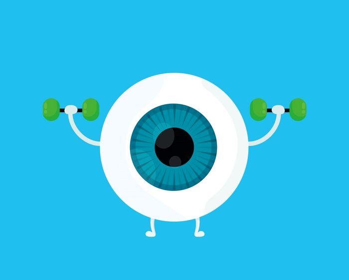 با این 10 ورزش ساده  بینایی خود را تقویت کنید
