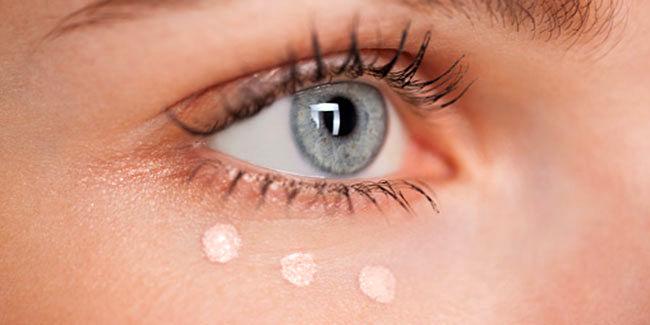تیرگی اطراف چشم و  روغن کرچک