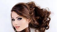 موهای براق با مواد طبیعی