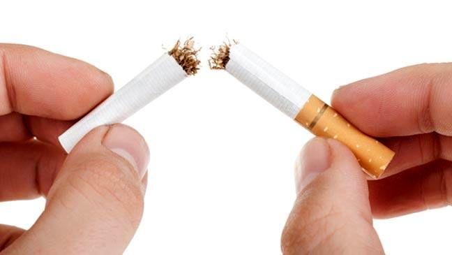 سیگار کشیدن را از زندگی خود حذف کنید.
