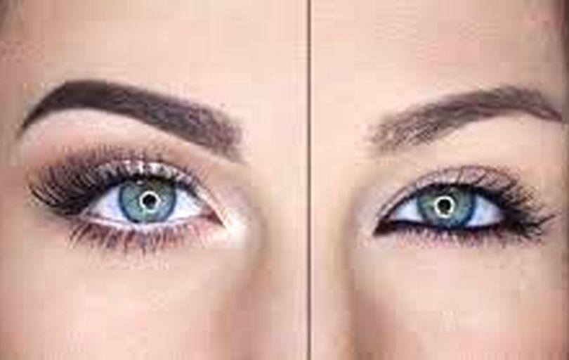 درشت نشان دادن چشم های ریز با تکنیک های آرایشی