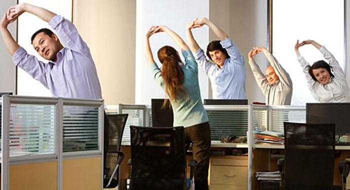 چگونه افراد پشت میز نشین ورزش کنند؟