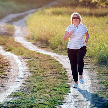 نکات مهم دویدن برای افراد چاق