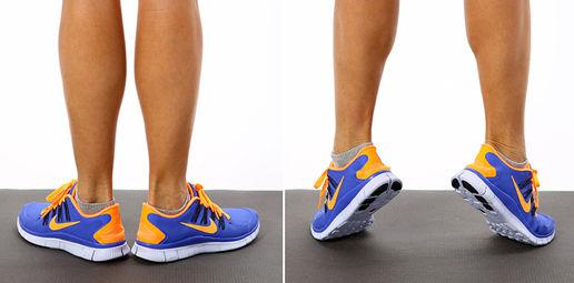 تقویت عضلات ساق پا