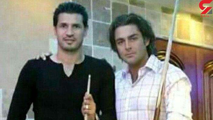 محمدرضا گلزار در کنار یک فرد معروف + عکس