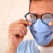 راه حل معضل بخار کردن عینک