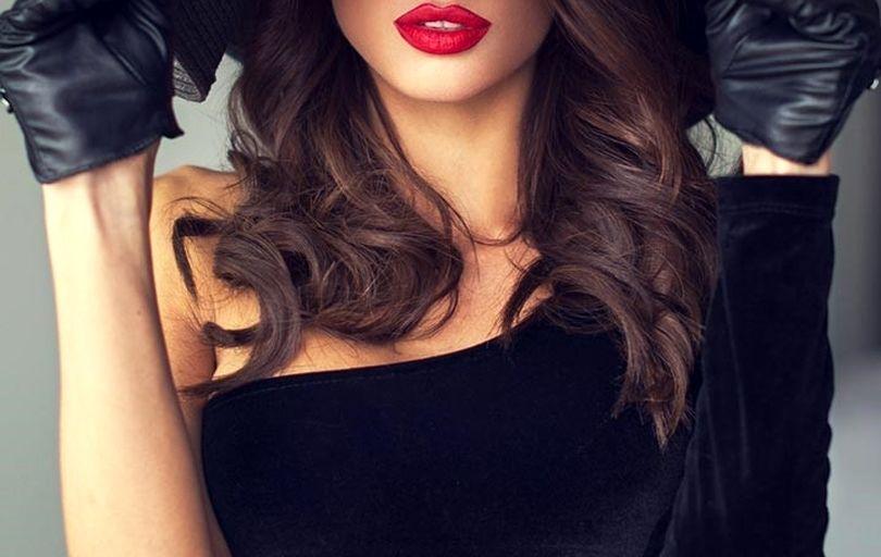 آرایش جذاب برای انواع فرم لب