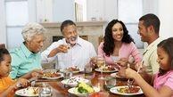 برای لاغری، غذای خود را در محل ویژه ای میل کنید.