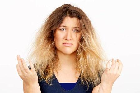 با این روش موهای سوخته را بازسازی کنید
