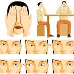 انجام تمرین پالمینگ، یکی از موثرترین تمرینهای چشمی برای استراحت