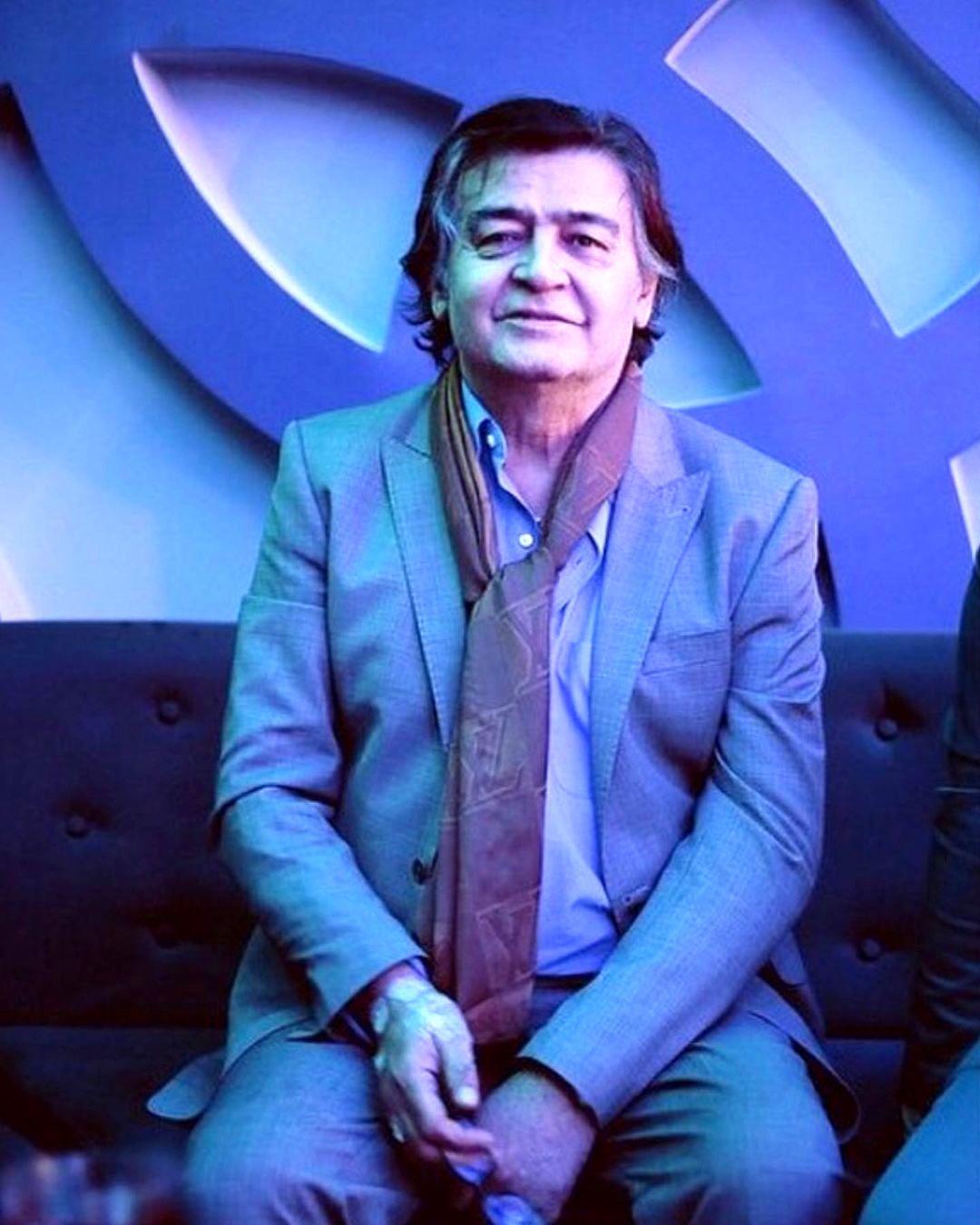 همسر کم سن رضا رویگری 75 ساله | تصاویر رضا رویگری و همسر دومش