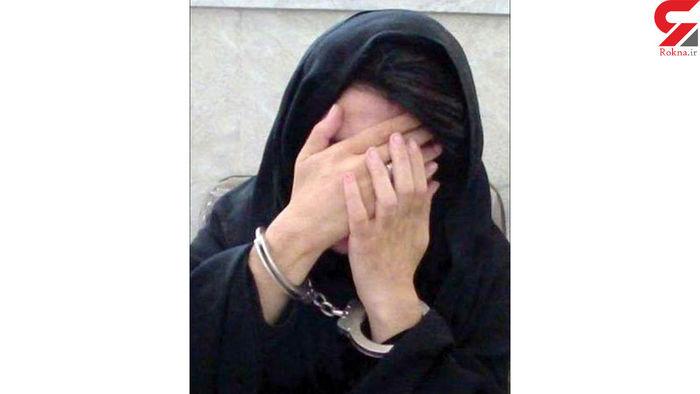 دختر 14 ساله مادر تهرانی اش را باسیم شارژ خفه کرد ! +عکس