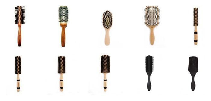 فواید برس مو و انواع آن