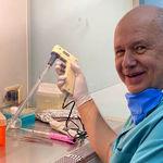 محقق روس برای آزمایش مصونیت در برابر کرونا عمدا خود را بیمار کرد