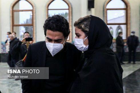 مراسم ازدواج سحر دولتشاهی و همایون شجریان + عکس