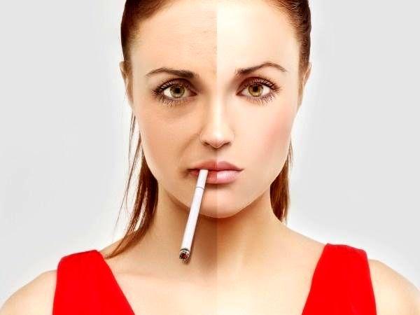 تاثیرات کشیدن سیگار روی پوست