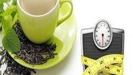 نوشیدن چای باعث کاهش وزن میشود
