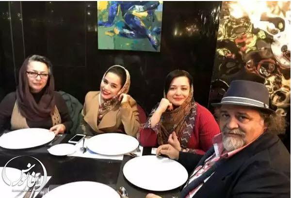 لاو ترکوندن محمدرضا شریفی نیا و آزیتا حاجیان بعد از طلاق + عکس