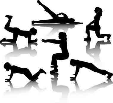چند حرکت ساده برای زیبایی عضلات ران و باسن